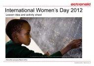 International Women's Day 2012 - ActionAid