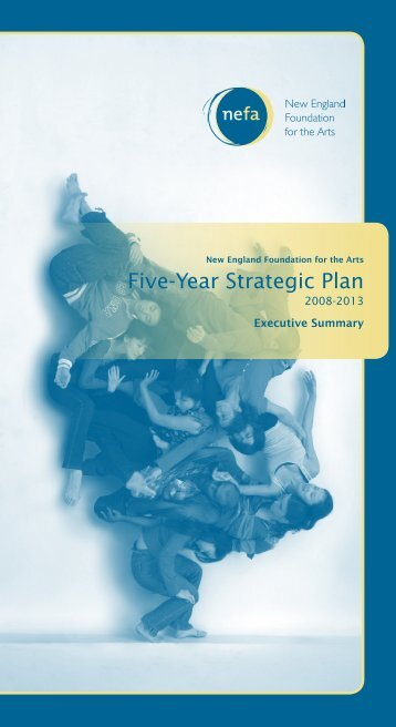 Five-Year Strategic Plan - New England Foundation for the Arts