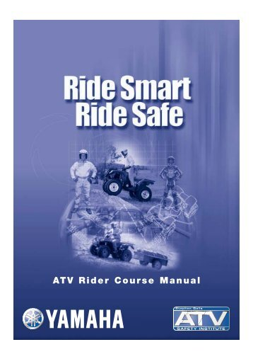 ATV Rider Course Manual – Yamaha Motor Australia