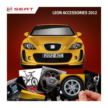 LEON ACCESSORIES 2012 - Seat