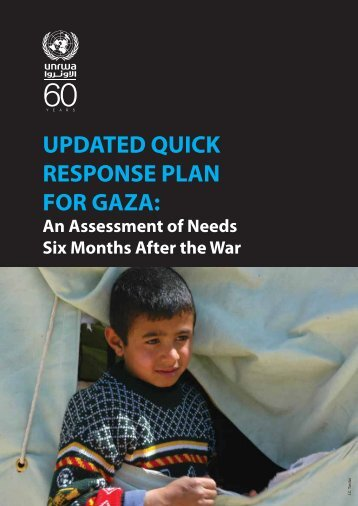UPDATED QUICK RESPONSE PLAN FOR GAZA: - Unrwa