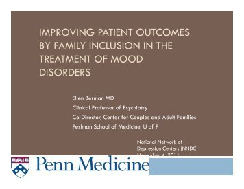 Improving patient outcomes by family inclusion in adult patients with ...