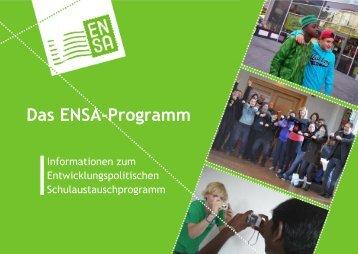 Das ENSA-Programm - ELAN