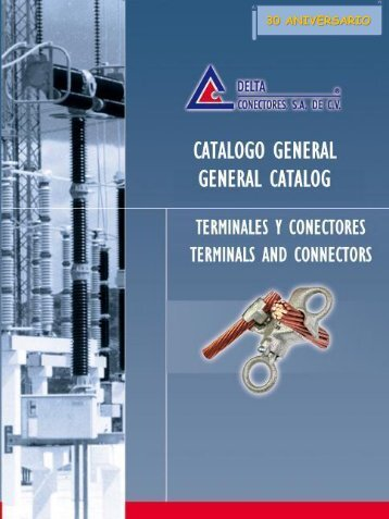 Catálogo de DELTA CONECTORES - Distribuidora Mayecen