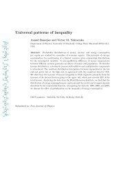 arXiv:0912.4898v3 [q-fin.ST] 1 Mar 2010