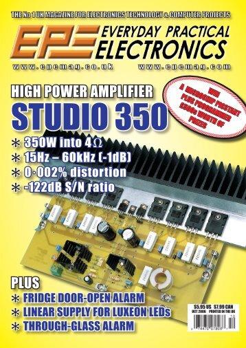 EPE-Online - October 2006 - Vol. 35, No. 10
