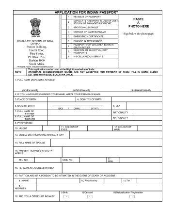 Indian Embassy Riyadh Passport Renewal Form Word Format  Loving Anna