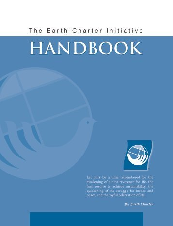 Handbook English - Earth Charter Initiative