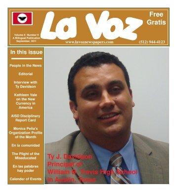 La Voz de Austin September, 2011abc.pmd - La Voz Newspapers