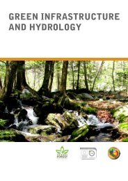 green infrastructure and hydrology - Green Infrastructure North West