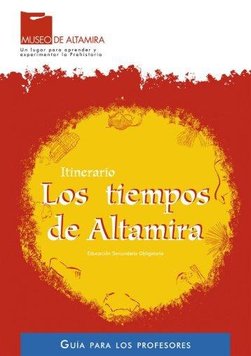 Guía para los profesores - Museo de Altamira