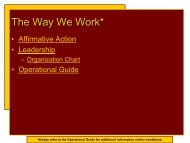 Module 2 – The Way We Work - Austin College