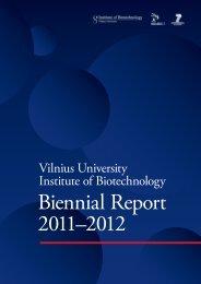 Biennial Report 2011–2012