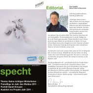 specht - Bergwaldprojekt