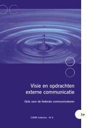 COMM Collection 8 Visie en opdrachten externe communicatie