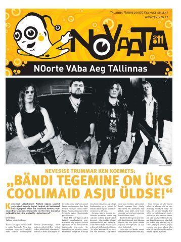 NOVAATA vaheleht pdf - Tallinna noorte infokeskus