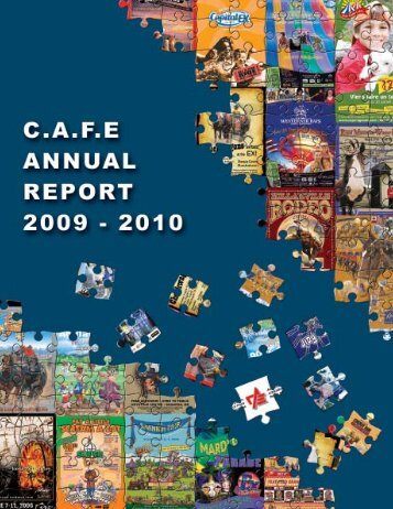 2009-2010 Annual Report - Canadian Association of Fairs and ...