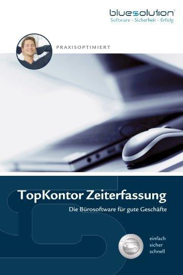 TopKontor Zeiterfassung - blue:solution software GmbH