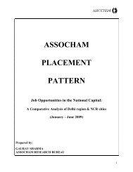 ASSOCHAM PLACEMENT PATTERN