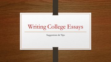 writing-college-admissions-essays