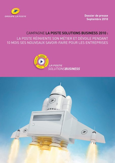 CAMPAGNELA POSTE SOLUTIONS BUSINESS 2010 :
