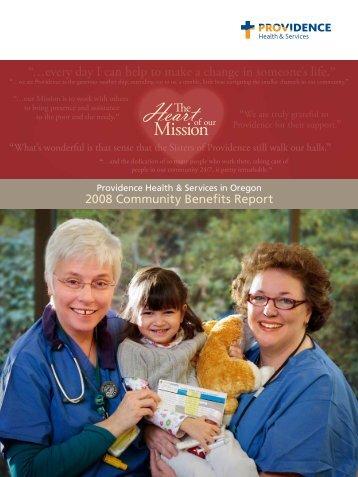 Oregon download PDF - Providence Health & Services logo