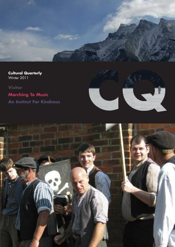Winter 11 - Cultural Quarterly Online