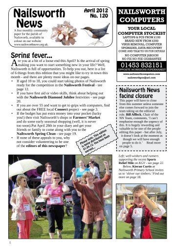 Issue 120 Apr 2012 - Nailsworth News