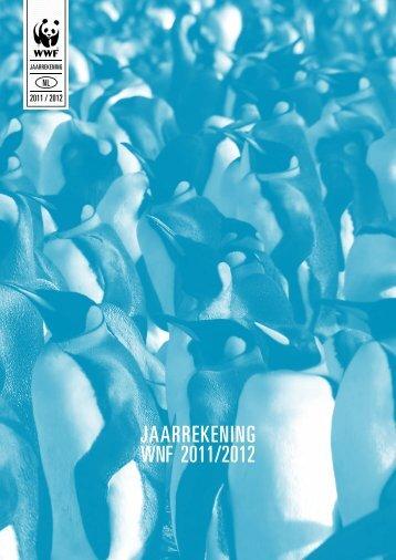 Jaarrekening WnF 2011/2012 - CBF