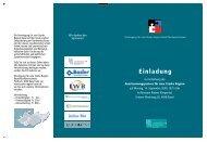 Einladung Anerkennungspreis 2009 - Vereinigung für eine Starke ...