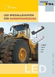 touch sw itch light LED SPEZIALLEUCHTEN FÜR ...