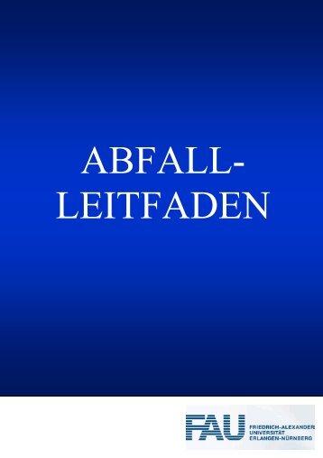 Abfall- Leitfaden - Sachgebiet Umweltmanagement und Technische ...