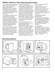 wiring diagrams for sinpa SINPAC Start Switch Schematic Diagram sinpac switches brief operating description mounting rexnord