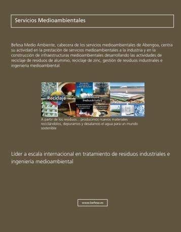 Servicios Medioambientales740 KB - Abengoa