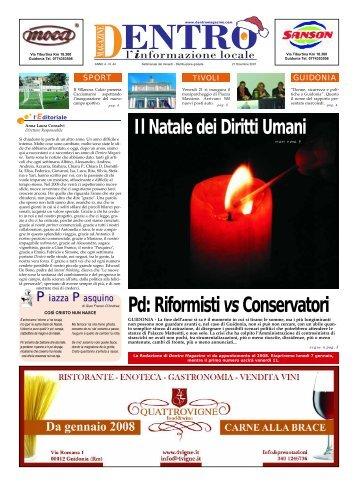 Pd: Riformisti vs Conservatori - La Voce del Nord Est Romano