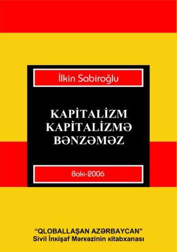 Kapitalizm kapitalizmə bənzəməz - Azərbaycan Milli Kitabxanası