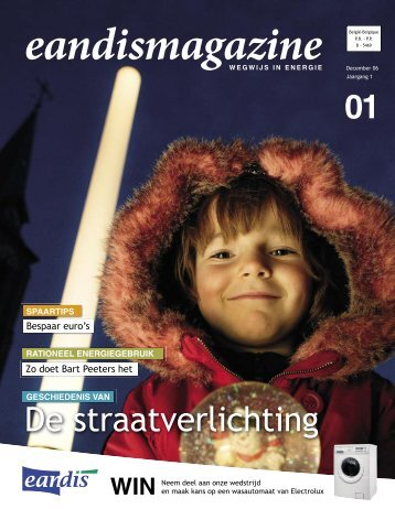Eandismagazine 01 - December 2006 - 'Wie is Eandis?'