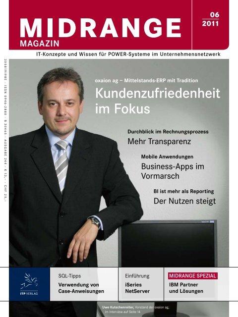 Kundenzufriedenheit im Fokus - Midrange Magazin
