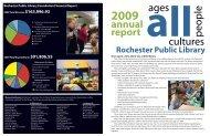 Annual Report - Rochester Public Library