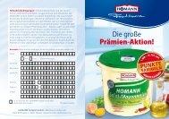 Prämienpunkte - Homann