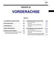VORDERACHSE - Outlander-Forum