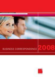 BUSINESS CORRESPONDENCE 2008 - OFFICE SEMINARE