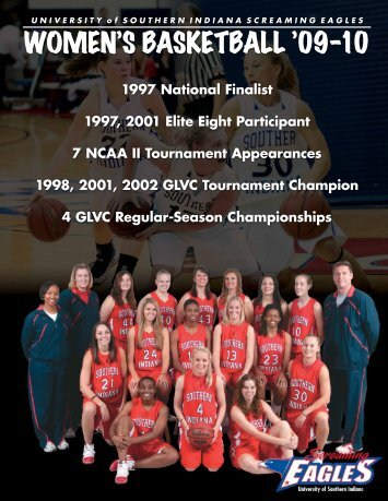 2009-10 - University Of Southern Indiana Athletics