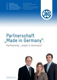 """Partnerschaft """"Made in Germany"""": - MS Spinex"""