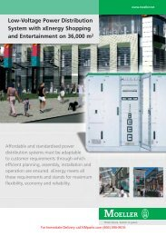 Low-Voltage Power Distribution System with xEnergy - Shopping ...