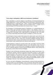 konjunkturanalyse for første kvartal af 2013 - Håndværksrådet