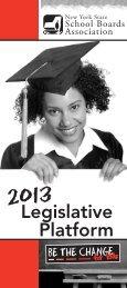 2013 Legislative Platform - New York State School Boards Association