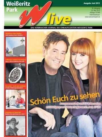 Ausgabe 06/2013 - Der Weißeritz Park Freital