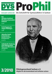 ProPhil - Philologenverband Sachsen