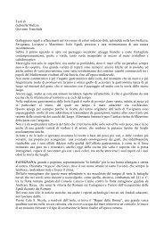 Testo in italiano - Comune di Favignana